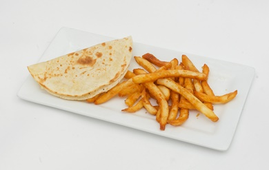 Kid's menu quesadilla