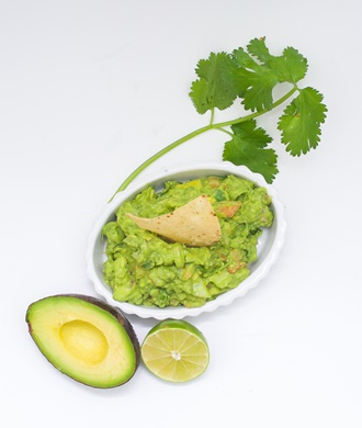 Guacamole w/ garnish